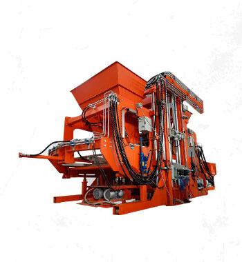 máquina automática de meio-fio de concreto