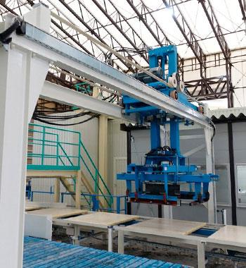 equipamento de manuseio para maquinas de concreto