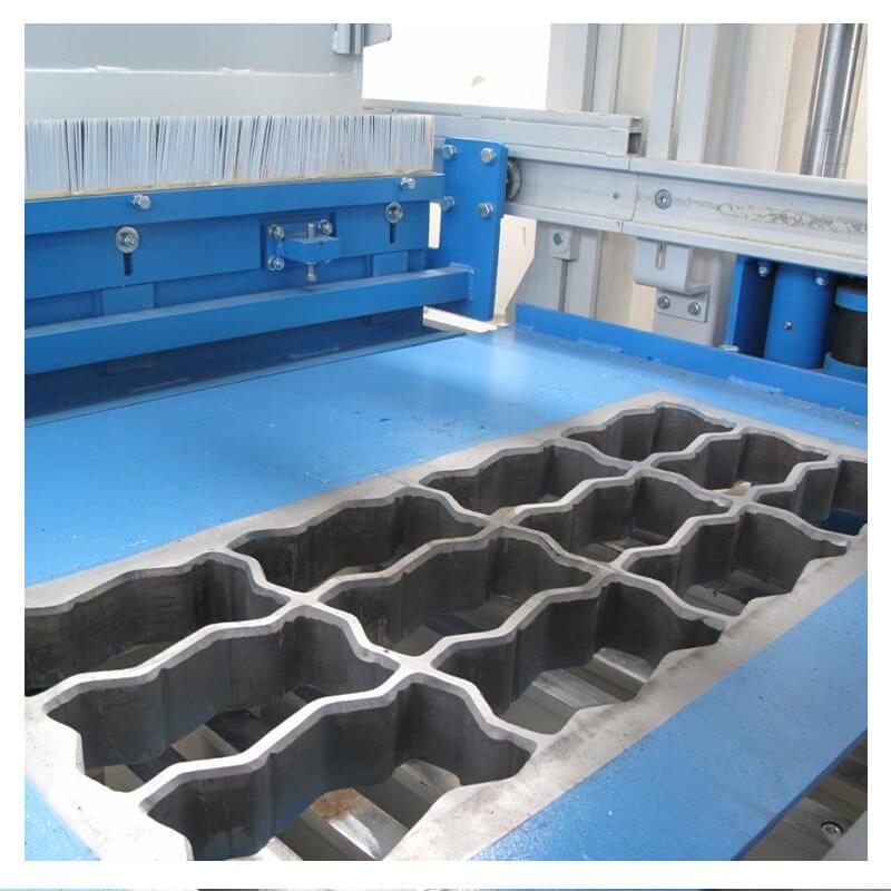 rama ue6 maquina de bloco hidraulica